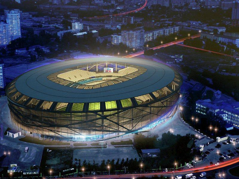 Центрального стадиона в
