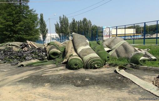 """поля стадиона """"Олимп-2"""""""
