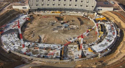 стадион атлетико мадрид новый фото