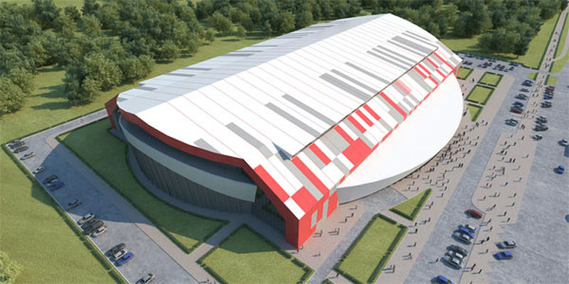 стоимость строительства спортивно концертного комплекса компания