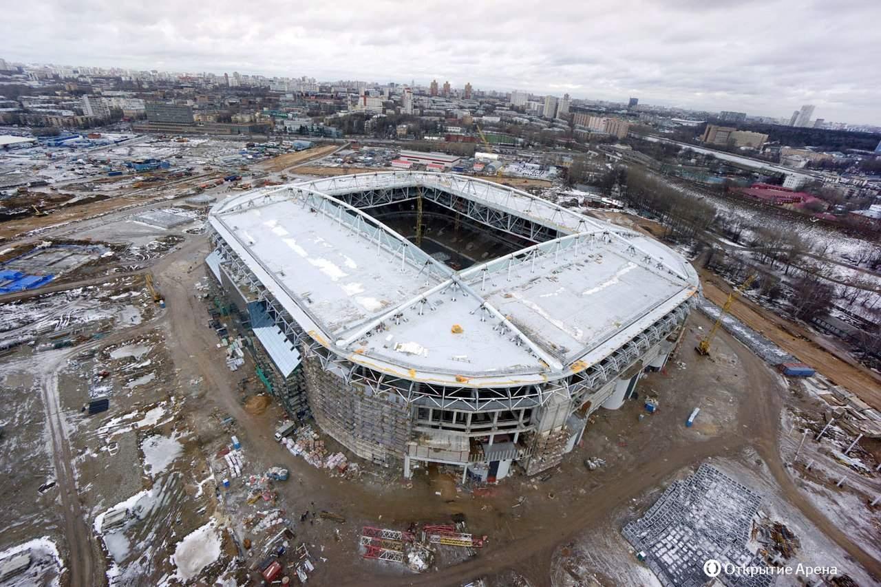 схема стадиона казань арена фото июнь 2013