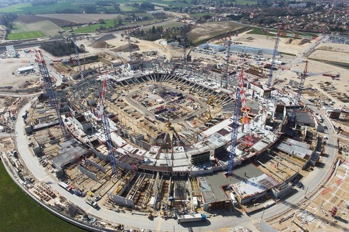 Строительство нового стадиона лиона