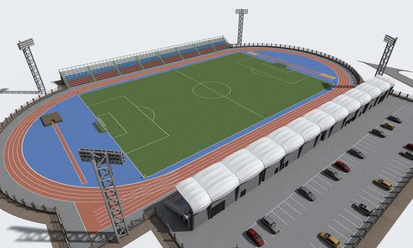 стадиона на 3,5 тыс. мест,