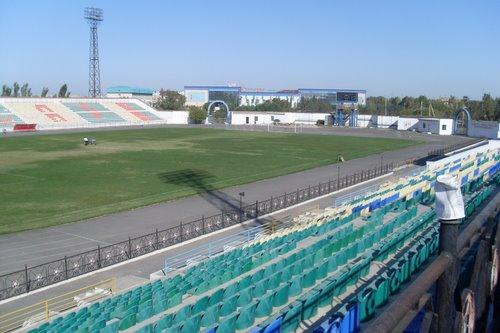 Проект нового стадиона в Кызылорде