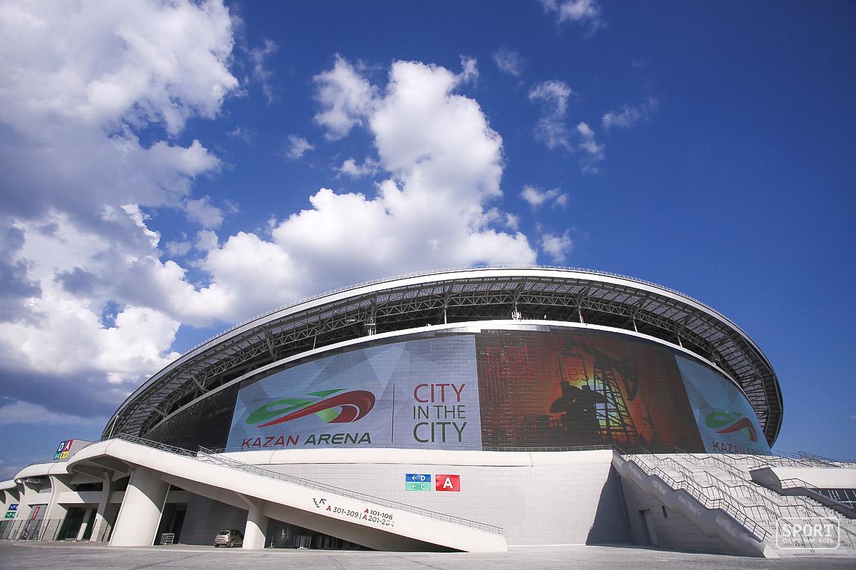 стадиона казань арена схема мест