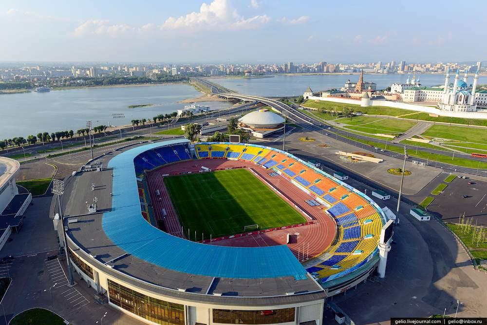 Стадион центральный казань схема 500