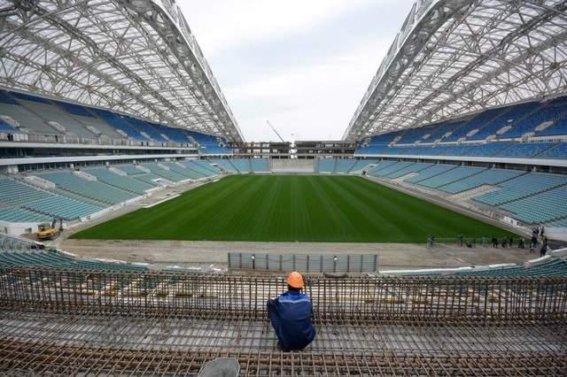 Сочи футбольный стадион фото