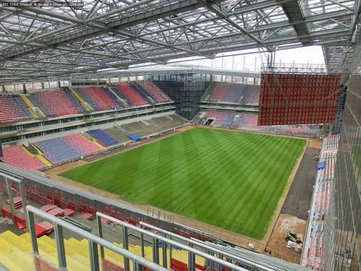 стадион цска 2016 фото
