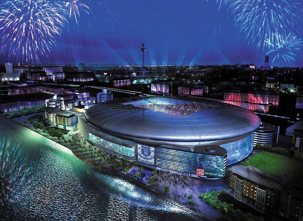Проект нового стадиона фк эвертон