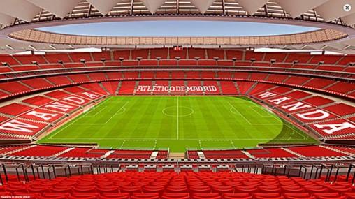 новый стадион атлетико мадрид фото