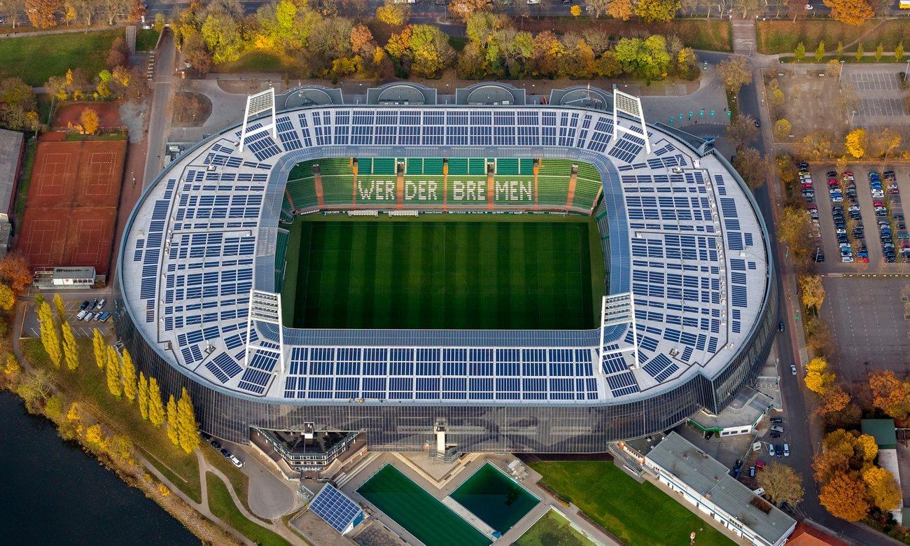 Вердер футбольный клуб домашние стадионы