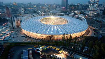 олимпийский стадион в киеве фото