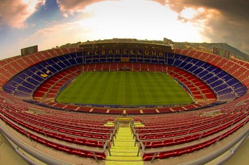 стадиона Барселоны Камп