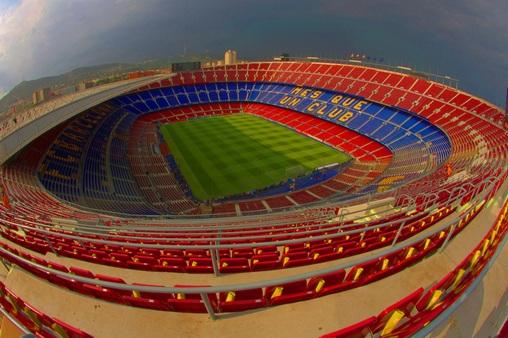 новый футбольным стадион.
