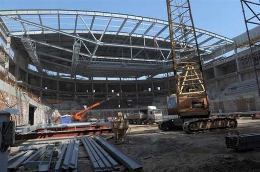 Строительство Ледового дворца может возобновиться с августа при содействии правительства Севастополя