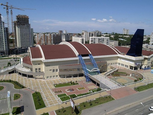 Хабаровск, «Платинум-Арена»