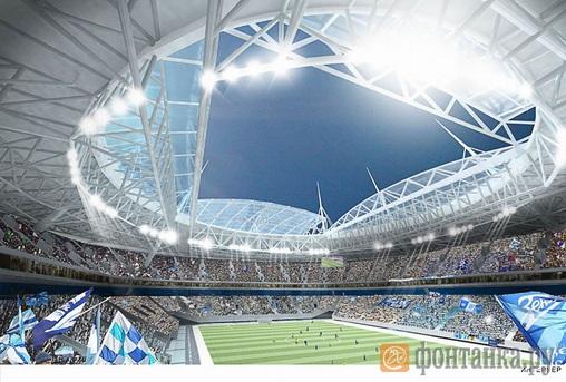 зенит-арена стадион фото сейчас