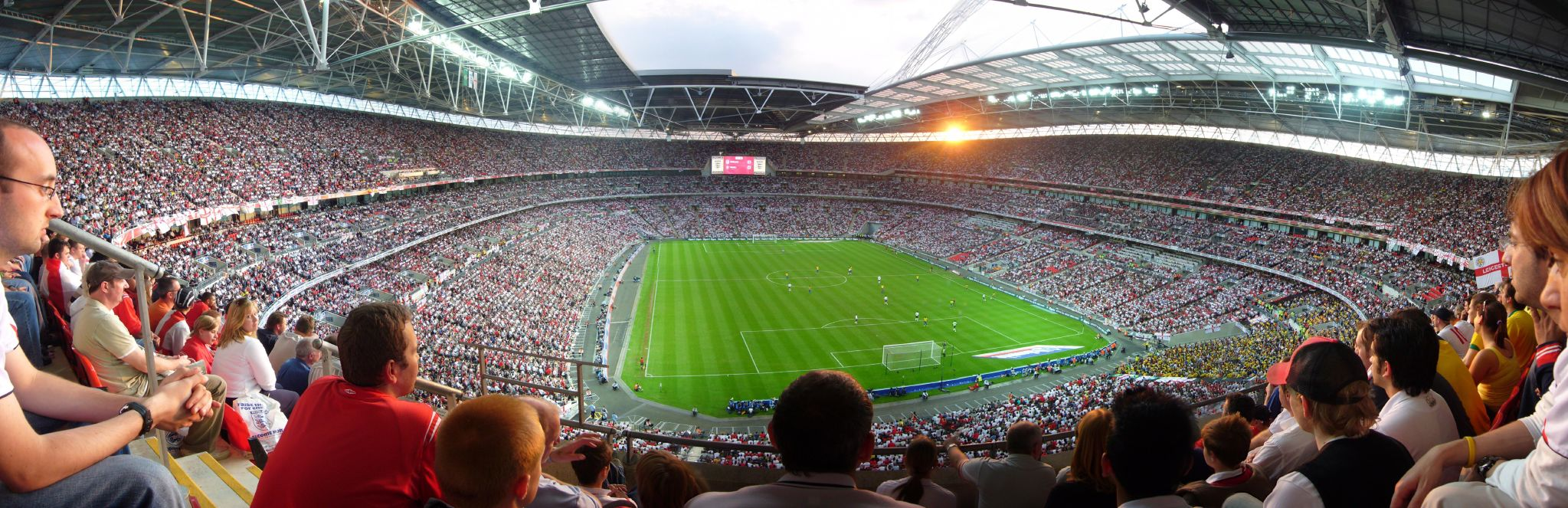 wembley stadium pricing study Take a view of the stadium pitch from your seat.